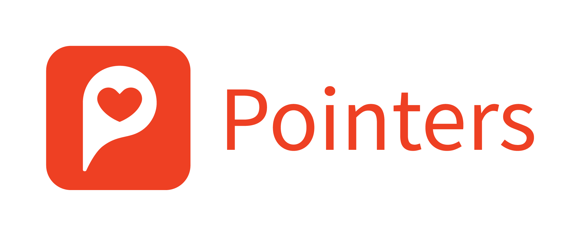 Pointers Logotype Monochrome Positive