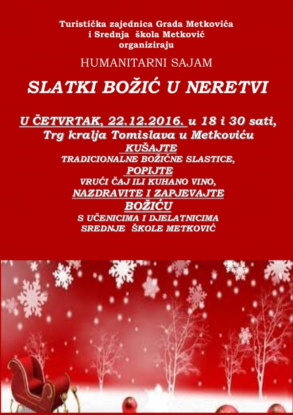 The Neretva Sweet Christmas